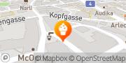 Karte Klaus Confiserie Café AG Bülach, Schweiz