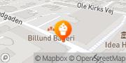 Kort Billund Bageri A/S Billund, Danmark