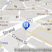 Map Art Of Camden Tattoo Shop London, United Kingdom