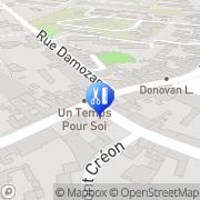 Carte de Art et Tif Caen, France