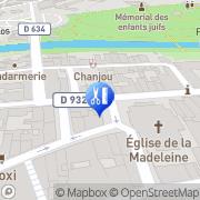 Carte de Paillaugue Stéphane Mont-de-Marsan, France