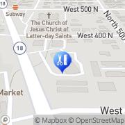 Map Watts Wellness & Medical Aesthetics Saint George, United States