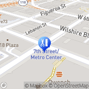 Map Dcci Los Angeles, United States