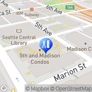 Map Seattle Infrared Sauna Store Seattle, United States
