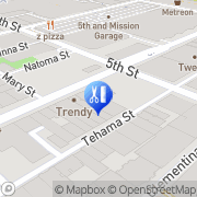 Map Trendy Hair Gallery & Beauty Supply San Francisco, United States