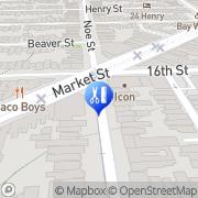 Map Great Tan-Castro San Francisco, United States