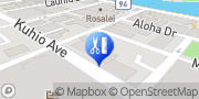 Map Shiatsu & Massage Center Honolulu, United States
