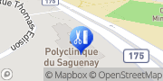 Carte de Clinique de Physiothérapie du Saguenay Chicoutimi, Canada