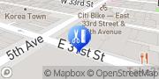 Map Bared Monkey Laser Spa New York, United States