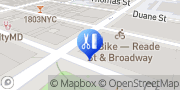 Map Pall Mall Barbers Midtown NYC New York, United States