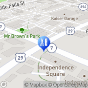 Map New Health Wellness Center Falls Church, United States
