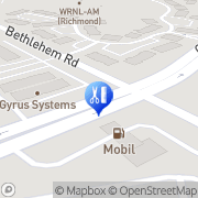 Map Virginia Surgical Center Henrico, United States
