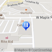 Map LaVida Massage of Bloomfield Township Bloomfield Township, United States