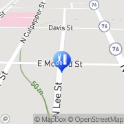 Map Bivin's Hair Care Quitman, United States