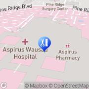 Map Aspirus Valve Center Wausau, United States