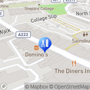 Map Bromley Massage & Therapy Centre London Borough of Bromley, United Kingdom