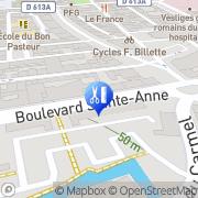Carte de Ac'tif Coiffure Lisieux, France
