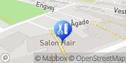 Kort Salon Hair Hadsten, Danmark