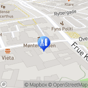 Kort Icank Hairdresser Odense, Danmark