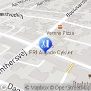 Kort Finåminel Frisør Vordingborg, Danmark