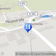 Karte Mobile Massage & Fußpflege Schleiz, Deutschland
