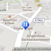 Karte Cornelia Thomas Adorf, Deutschland