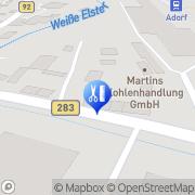 Karte Schneider Business GmbH Adorf, Deutschland