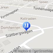 Karta Bettans Friskvård och Massage Trollhättan, Sverige