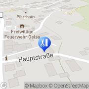 Karte Steingen Kosmetikstudio Rabenau, Deutschland