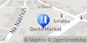 Map COLOREN a.s. TOP drogerie Svratka, Czech Republic
