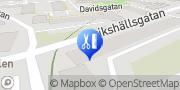 Karta Lilla Fossingens Hälsa Södertälje, Sverige