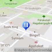 Karta Milda Matilda Medicinsk Fotvårdsklinik Sundbyberg, Sverige