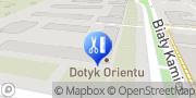Map Dotyk Orientu Warsaw, Poland