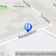 Kartta Parturi-Kampaamo Minna Pajuniemi Kankaanpää, Suomi