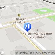 Kartta Parturi-Kampaamo SE-Salonki Kokkola, Suomi
