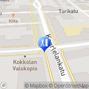 Kartta Hierontakeskus KH S Junnilainen Kokkola, Suomi
