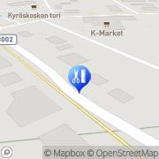 Kartta Parturi-Kampaamo Koski Kyröskoski, Suomi