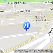 Kartta Salon Virtanen Nokia, Suomi