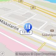 Kartta Kampaamo Oranssi Ylöjärvi, Suomi
