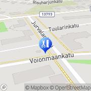 Kartta Hiuspiste Jemmy Tampere, Suomi