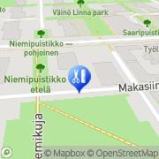 Kartta Kampaamo Salon Sereno Laila Niiniö Tampere, Suomi