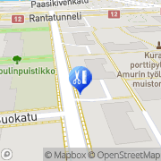 Kartta Hiushuone TN Tampere, Suomi