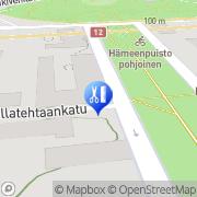Kartta PS Hiusstudio Tampere, Suomi