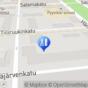 Kartta Parturi-Kampaamo Rasta Tampere, Suomi