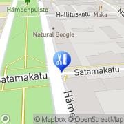 Kartta Kampaamo Hölli Mervi Tampere, Suomi