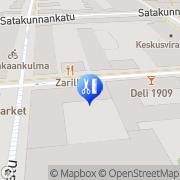 Kartta Parturi-Kampaamo Brita Tuominen Tampere, Suomi