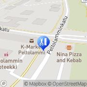 Kartta Parturi-Kampaamo Pike´s Tampere, Suomi