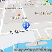 Kartta Parturi-Kampaamo Sky Tampere, Suomi