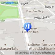 Kartta Parturi-Kampaamo Marella Tampere, Suomi
