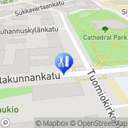 Kartta Parturi-Kampaamo Estradi Tampere, Suomi